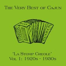 La Stomp Creole The very best of Cajun Vol 1 1920's – 1930's DOWNLOAD