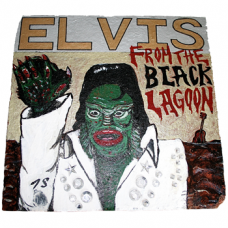 Elvis From The Black Lagoon by Tommy Scott