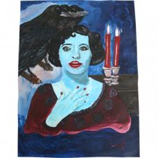 Lady Blue & the 3 Ravens by Tommy Scott