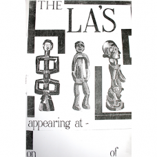 The La's African Sculptures Poster by Mike Badger